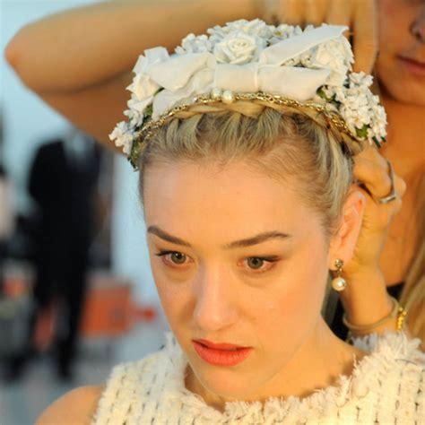 Bando Topi Fascinator tren aksesori rambut 2013 dunia wanita