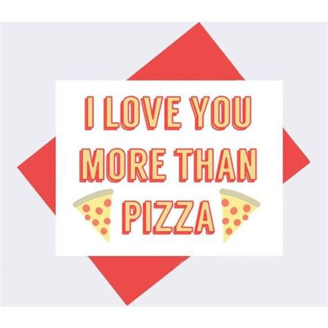 pizza valentines card template i you more than pizza s day card