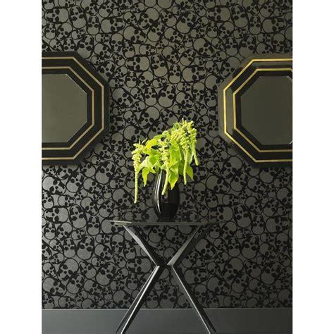black removable wallpaper graham brown skulls black removable wallpaper 19911