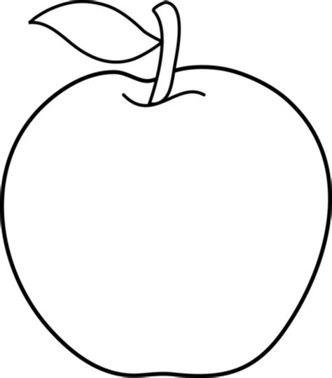 coloring book apple pencil apple pencil and in color apple