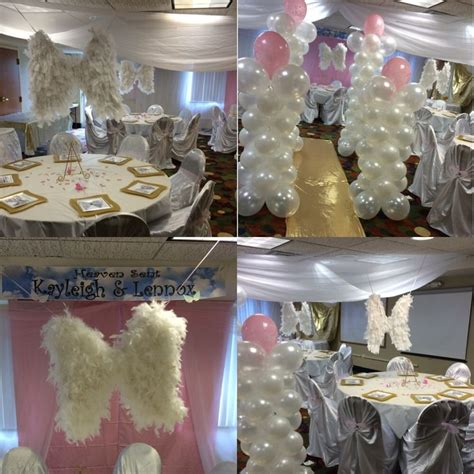 heaven themed decorations 65 best images about heaven sent baby shower theme on