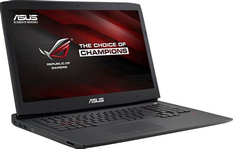 Asus Rog Laptop Ncix asus republic of gamers g751jy 17 inch gaming laptop review techgage