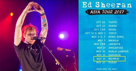 ed sheeran november 2017 after justin bieber ed sheeran is coming to india in
