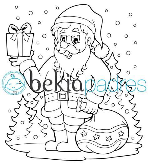 imagenes de santa claus para niños santa claus dibujo para colorear