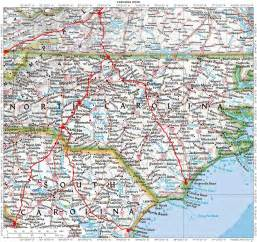 road map of carolina and tennessee pictures to pin