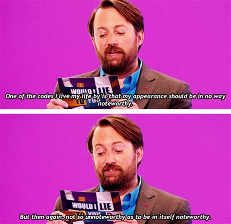 david mitchell everyone lmao i love would i lie to you