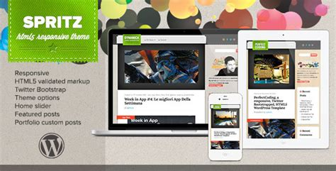 themeforest preview image size spritz html5 responsive theme blog magazine wordpress