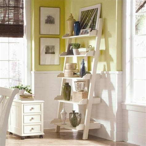 camden ladder wall storage bookcase in buttermilk 920 940