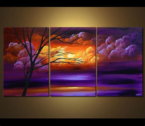 Landscape Pictures Canvas Pin By Shandre Mckey On Paint And Paintings