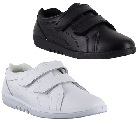 shoes 4 comfort womens comfort rex leather 2 strap velcro comfort casual