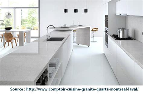Comptoir De Cuisine Quartz Blanc by Un Comptoir De Cuisine Dernier Cri Centris Ca