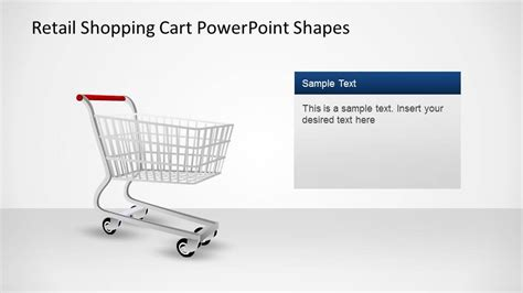Retail Shopping Cart Powerpoint Shapes Slidemodel Shopping Cart Template Free