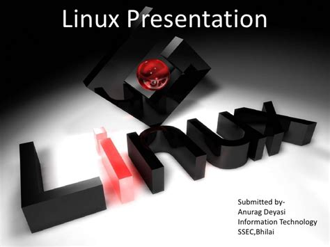 ppt templates for linux linux ppt