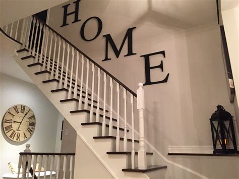 stairway decor 25 best ideas about stairway walls on pinterest