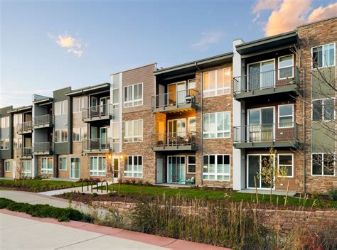 Apartments Boulder Co Walk Up Design Ktgy Architects