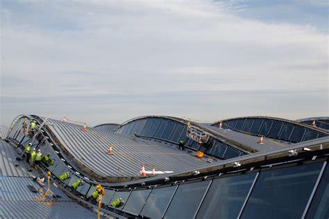 layout of airport terminal building terminal 2 heathrow airport london luis vidal