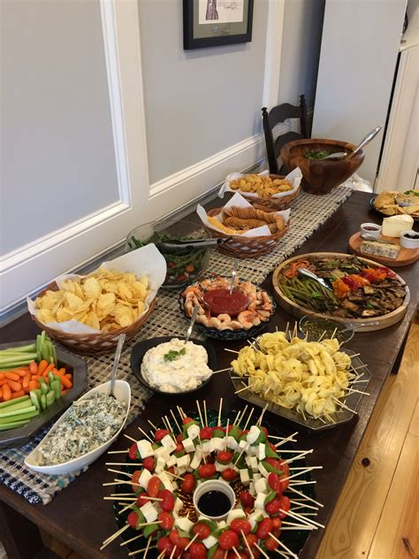 christmas party food ideas for adults housewarming spread it s to be the cook