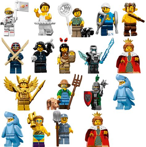 Lego Minifigures Series 12 Complete Set 16 Character image gallery lego minifigures series 15