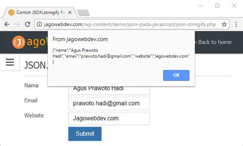 membuat json dengan javascript json pada javascript panduan lengkap jagowebdev