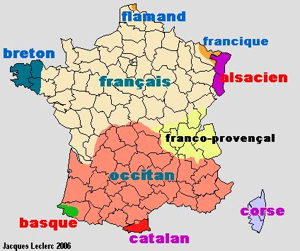 the problem of regional and minority languages in france