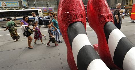 The Of The Stolen Slippers by The Ruby Slippers From The Wizard Of Oz Are Still Stolen