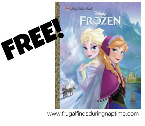 frozen book report free frozen book frugal finds during naptime