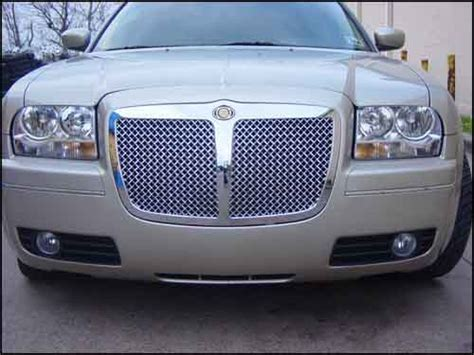 bentley chrysler 300 2007 chrysler 300 mvp chrome mesh bentley grille