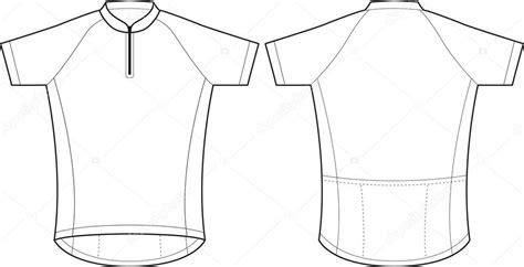 Radtrikot Design Vorlage Maillot De Corta Vector De Stock 14653977 Depositphotos
