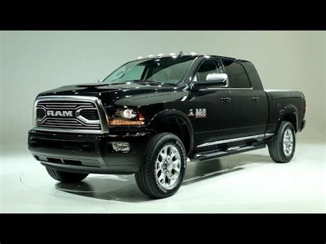 2018 ram 2500 hd limited tungsten edition youtube