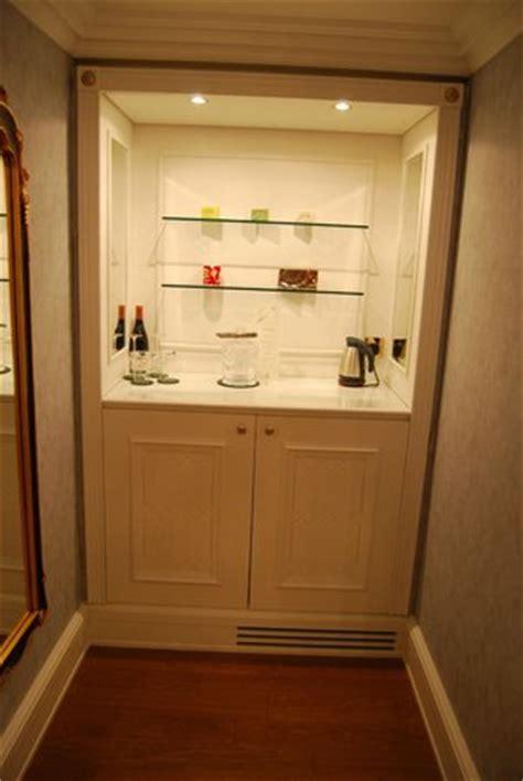 mini fridge inside the cabinet picture of powerscourt