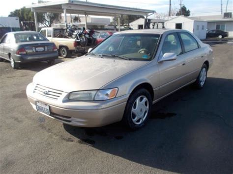 Toyota Camry 4 Cylinder Mpg Sell Used 2000 Toyota Camry Le 2 2l 4 Cylinder Auto Low