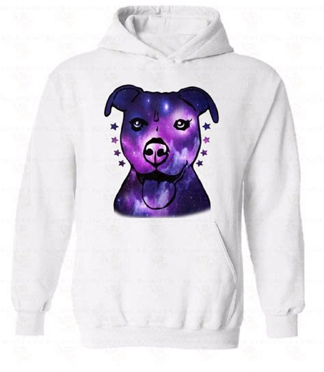 puppy sweatshirt pitbull galaxy hoodie sweatshirt sweater hooded animal lover puppy gift ebay