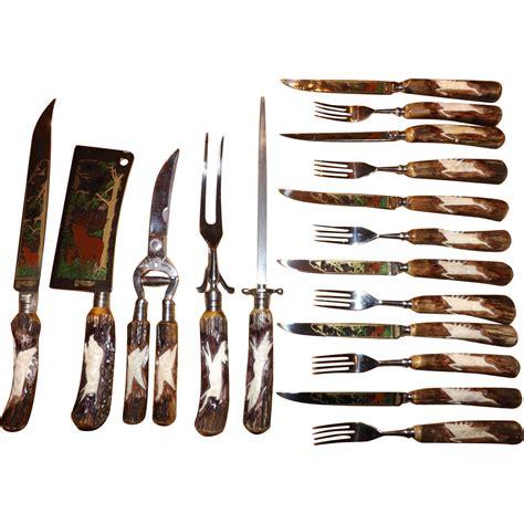 beautiful flatware beautiful anton wingen jr othello antler handle flatware