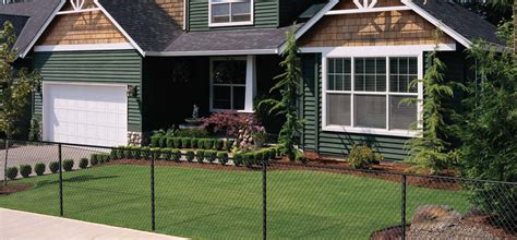 chain link fence home depot trendy chain link fence slats