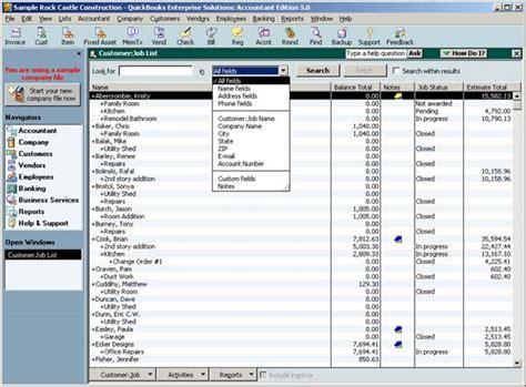 quickbooks tips tricks enterprise solution list search