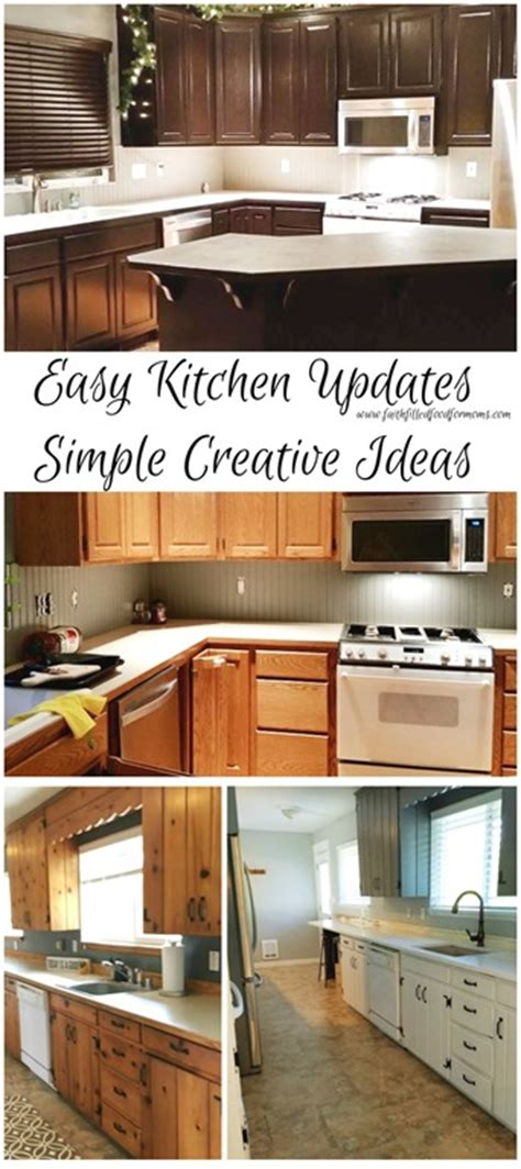 easy kitchen updates simple creative ideas faith