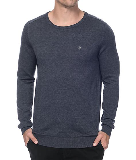 Sweater Volcom volcom uperstand navy sweater