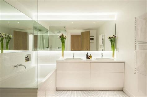 large bathroom mirrors small bathroom 5 tips to make it look larger usluga