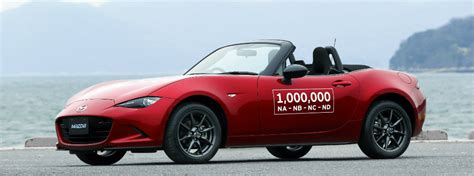 how many mazda dealers in the design on the one millionth 1 000 000 mazda mx 5 miata