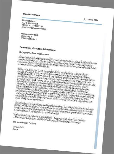 Ausbildung Bewerbungsschreiben Automobilkaufmann Bewerbungspaket F 252 R Den Beruf Des Automobilkaufmanns