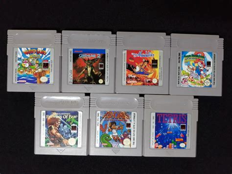 Gba Set C nintendo gameboy set incl 7 like kid icarus marioland 2 and more catawiki