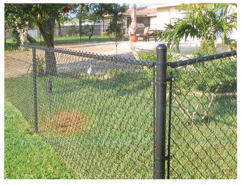 yard fence middlebury fence chain link fencing residential fencing