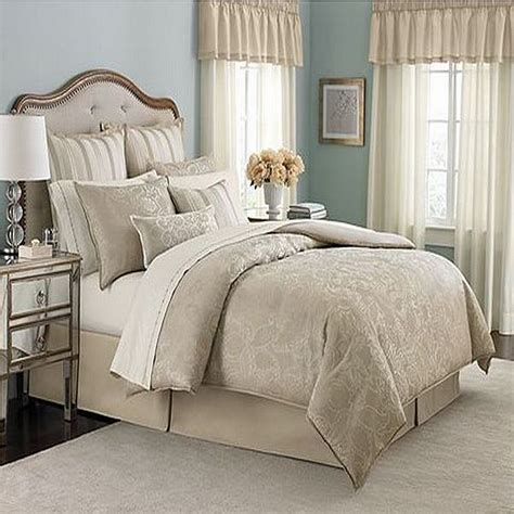 martha stewart gated garden queen 12 piece comforter bed