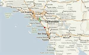 where is oceanside california on a map oceanside location guide