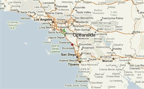 oceanside ca map gu 237 a urbano de oceanside
