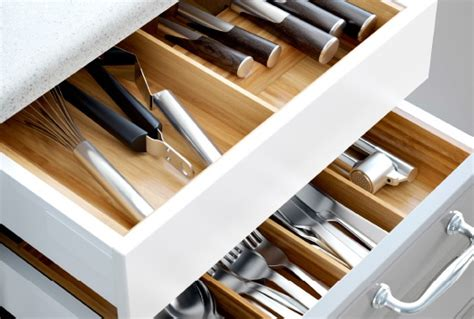 Kitchen Drawer Systems by Drawer Within Drawer Systems And Integrated Lighting The