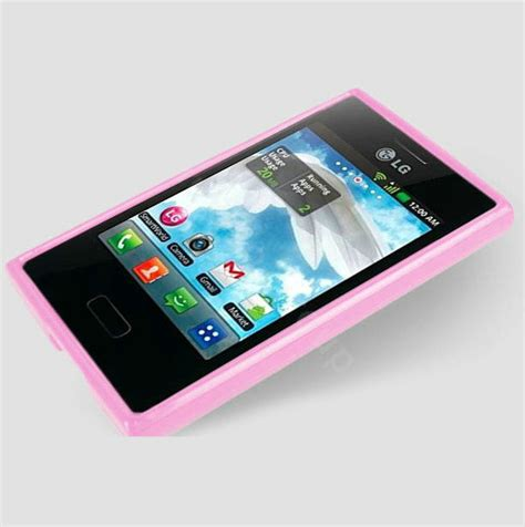 Soft Lg L3 E400 1 buy wholesale tpu soft silicone cases skin covers for lg e400 optimus l3 pink from