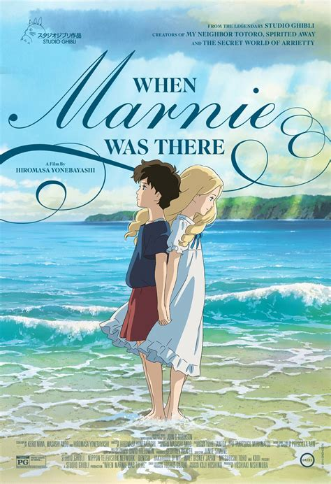 Marnie Ghibli Film | when marnie was there 2014 posters traileraddict