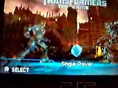 theme psp transformers transformers usa psp youtube