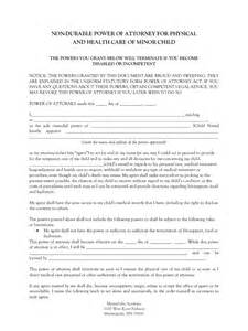 Authorization Letter For Child authorization letter for child travel with grandparents power attorney